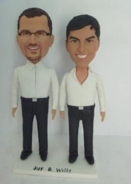 SameSex cake toppers custom gay cake toppers
