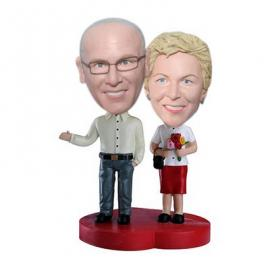 40th anniversary cake toppers