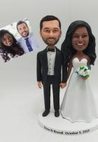 Custom Custom wedding cake toppers from Photo