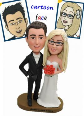 Custom Cake Toppers From Cartoon Photos 0904 139 00
