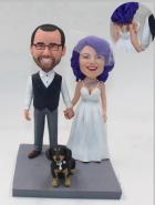 Custom Custom wedding cake topper with tattoos