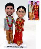 Custom Custom wedding cake topper Indian couple