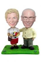 Custom 40th anniversary cake toppers