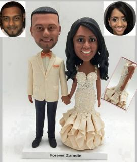Custom wedding cake topper made for you