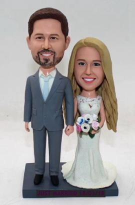 Custom wedding cake topper made from your photos