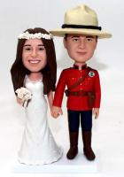 Custom Custom wedding cake topper soldier