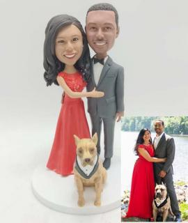 Custom Wedding Cake Topper from Picture
