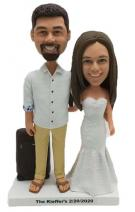 Custom Custom Bride and Groom Cake Toppers