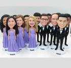 Custom Custom wedding party dolls