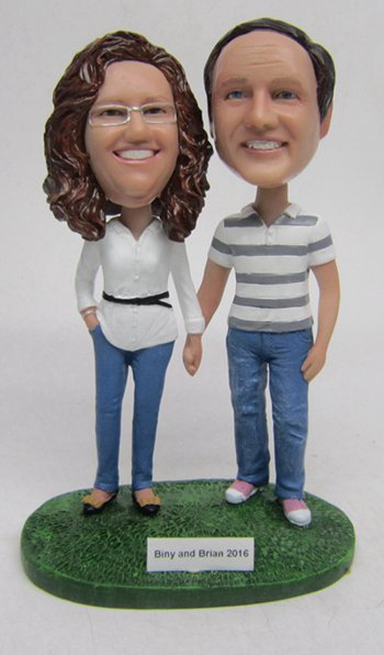 Custom Cake topper gift for Parents