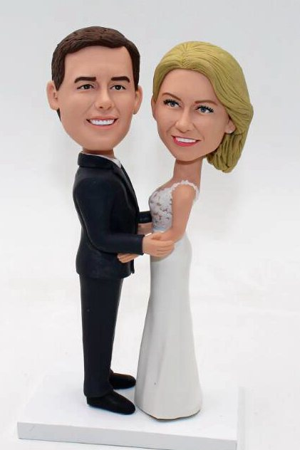 Custom Cheap wedding cake toppers