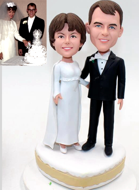 Custom Custom cake topper vintage wedding