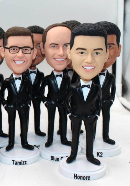 Custom Custom groomsmen dolls made to order