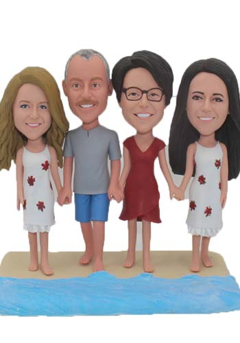 Custom Cake toppers from photo for Family 4