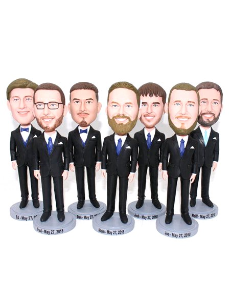 Custom Custom groomsmen wedding party bobblehead gift