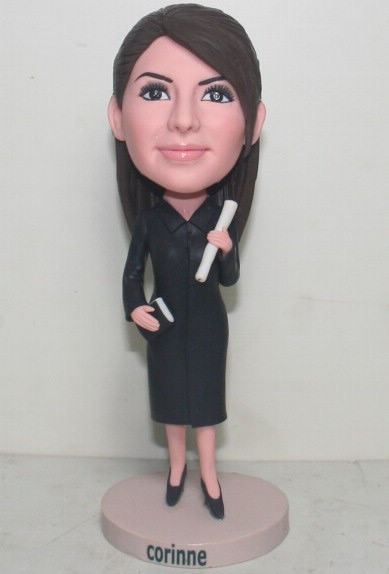 Custom Female Teacher Birthday Cake Toppers