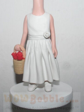 Custom Flower Girl Custom Figurines 18