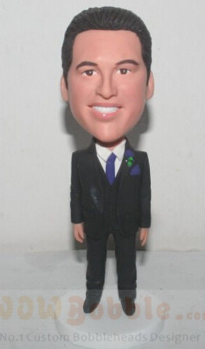 Custom Groomsman Custom Doll 21