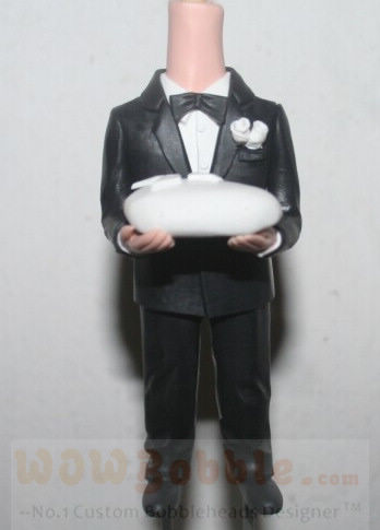 Custom Ring bearer Custom Doll