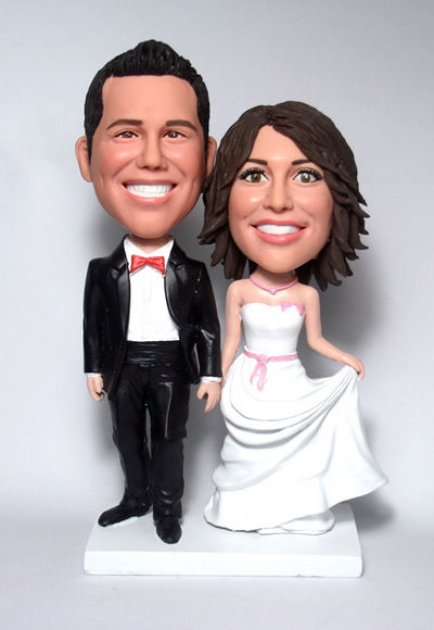 Custom Personalized Wedding Cake Toppers