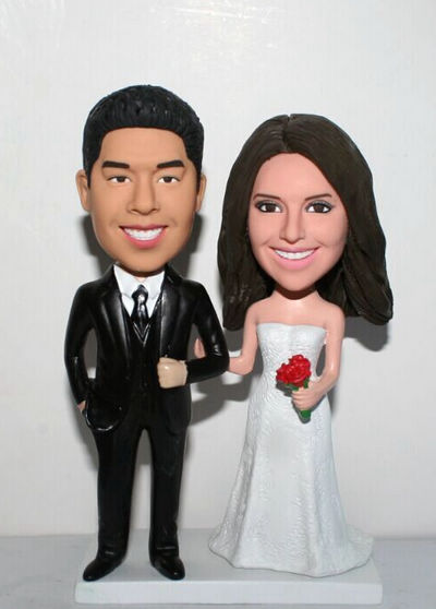 Custom Custom Wedding Cake Toppers