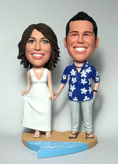 Custom Custom Wedding Cake Toppers Hawaii