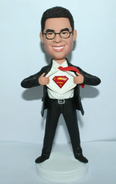 Custom Groomsmen gift- superman figurine