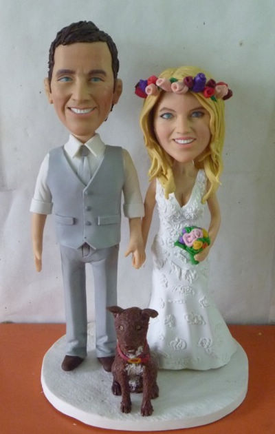 Custom Custom Wedding Cake Topper Hawaii
