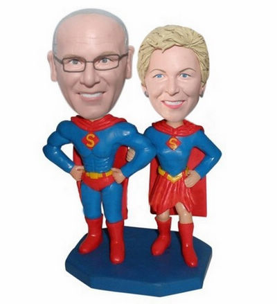 Custom Superman 30th 40th 50th anniversary toppers