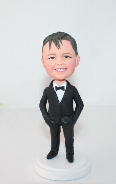 Custom Custom figurines for junior groomsmen