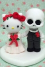 Custom Wedding cake toppers Hellokitty
