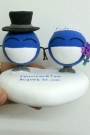 Custom Wedding cake toppers make for order