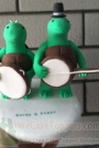 Custom Custom Teenage Mutant Ninja Turtles cake toppers